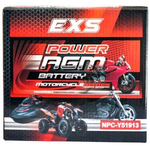 Power AGM NPC-Y51913 Motorcycle Battery