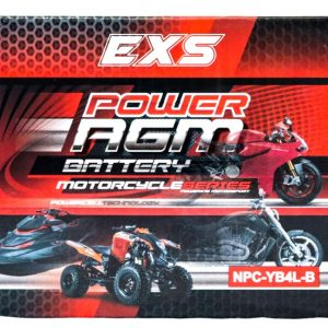 Power AGM NPC-YB4L-B Motorcycle Battery