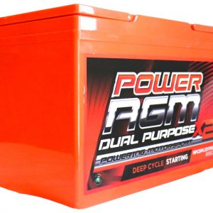 Power AGM NPCDPL12V110AH Dual Purpose Battery