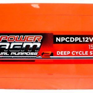 Power AGM NPCDPL12V270AH Dual Purpose Battery